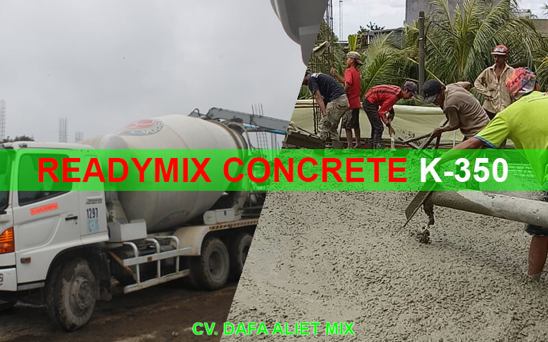 READYMIX CONCRETE K350