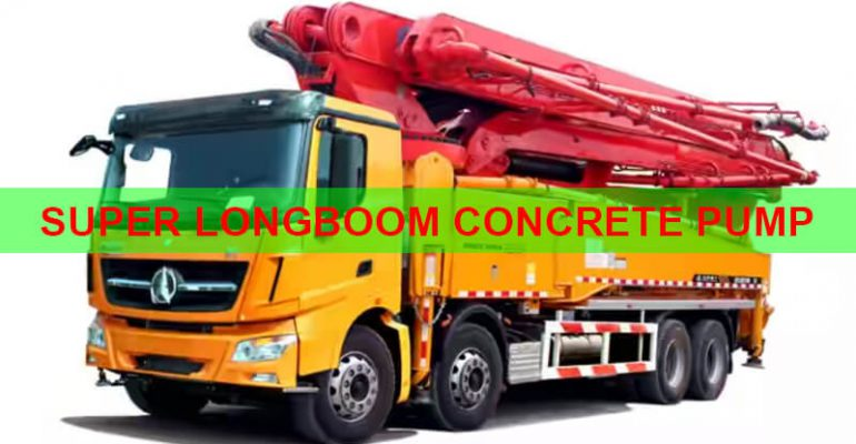 SUPERLONGBOOM CONCRETE PUMP
